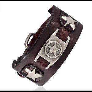 Other - Brown / Coffee Unisex Biker Bracelet